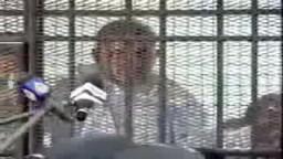 من ذاكرة المحاكمات العسكرية للشرفاء...كلمة الاستاذ حسن مالك رجل الاعمال وهو خلف القضبان