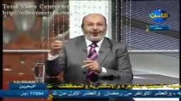 الشيخ صفوت حجازي مباراة مصر والجزائر