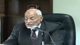 المرشد العام للإخوان المسلمين  يعلن تشكيل مكتب الإرشاد الجديد