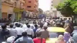 وقفة تضامنًا مع دكتور محمد بديع والمعتقلين في انتخابات المحليات 2008