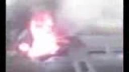 لقطات فيديو نادرة للحظات الأولى لتصادم قطاري قليوب .. مدونة الوعى المصرى