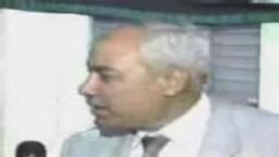 فضيلة الاستاذ مهدى عاكف يحكى  خبر تخفيف قرار الاعدام المحكوم علية