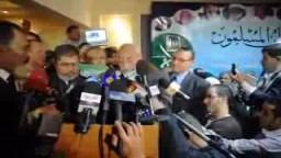الاستاذ عاكف وجموع الاخوان يجددون البيعة للدكتور محمد بديع