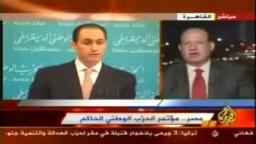 الجزيرة: جمال مبارك يتحاشى التحدث عن مرشح الحزب الحاكم للرئاسة