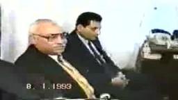 الرئيس الفلسطينى الراحل ياسر عرفات ..يزور مكتب الإرشاد لجماعة الإخوان المسلمين ..من أرشيف الإخوان