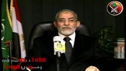 حصرياً .. كلمة فضيلة المرشد العام د. محمد بديع فى .. ذكرى إستشهاد الإمام حسن البنا