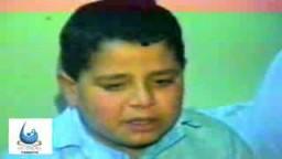عبد السلام هنية  ابن القائد اسماعيل هنية يبكى اباه