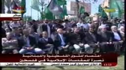 كلمة الجهاد والمقاومة.. أ. على بركة ..  المسئول السياسى لحركة حماس فى لبنان