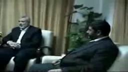 نواب الإخوان المسلمون مع رئيس الوزراء الفلسطينى ا/ اسماعيل هنية