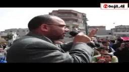 كلمة قوية  للدكتور. توكل مسعود الداعية الإسلامي بإحدى الوقفات الاحتجاجية لنصرة الأقصى