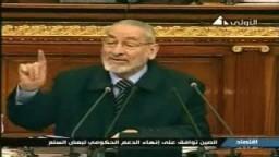 النائب / على لبن عضو الكتلة البرلمانية للإخوان المسلمين