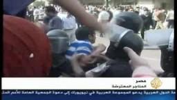 القمع الأمنى المصرى لحركات التظاهر السلمى فى الشارع .. ومنع حريات التعبير فى الحياة السياسية