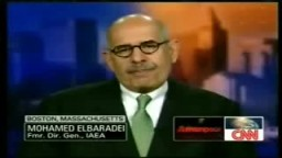 CNNحديث د. محمد البرادعي على قناة
