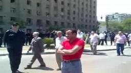 التواجد الأمني بمظاهرة 3 مايو 2010