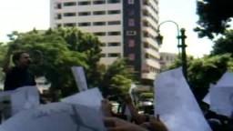 إحتجاجات المعارضة المصرية على تمديد قانون الطوارىء