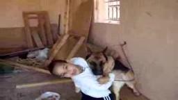 طفل شجاع