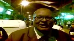 أ / حمدى رضوان مرشح الإخوان لمجلس الشورى 2010 يوجة كلمة للنظام بعد منع تعليق لافتات له فى الدائرة