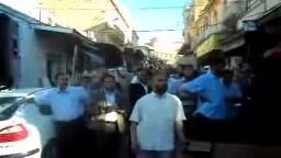 وقفة بتلمسان للتضامن مع قافلة الحرية أ.محمد حسين .. 3
