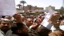 تعليق أ/ على فتح الباب .. على إنتهاكات الأمن وتزوير الإنتخابات من أمام إحدى لجان دائرة محافظة حلوان