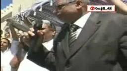 كلمة أ. حسين محمد  بمؤتمر القائد إبراهيم في يوم جمعة الغضب التي دعا إليها الدكتور القرضاوي