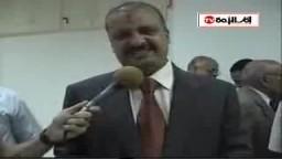 شكر الدكتور محمد البلتاجي لأهل الإسكندرية على ما قاموا به ضد المجزرة الصهيونية