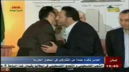 حماس تكرم عدداً من المشاركين فى قافلة أسطول الحرية
