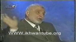 المرشد الراحل المستشار .. مأمون الهضيبى فى حديث نادر جدا ..حوار العمر