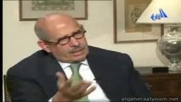 د.محمد البرادعى في برنامج القاهرة اليوم الجزء الثاني وحوار عن الأحداث الجارية الجزء الثالث
