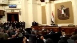نواب الإخوان يحتجون ضد قانون الطوارىء .. فى جلسة  البرلمان المصرى لتمديد القانون الظالم