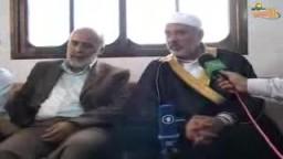 جولة القائد هنية  في غزة للتهاني بالعيد المبارك