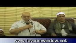 كلمة الأستاذ حسن أمين في عزاء الحاج مصطفي عوض الله