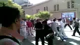 إعتداء حرس هندسة المطرية على أحد الطلاب أثناء الدخول