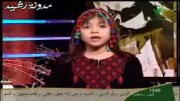 حصار غزة  الطفلة التي أبكت العالم