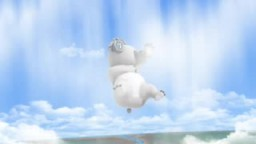 Polar bear - I love Sky