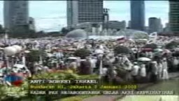 Indonesians rally against Israel\s Gaza strikes )|(