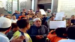 اهالى شبرا الخيمة ينتفضون لنصرة غزة