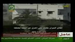 كتائب القسام تقتحم منزل تحصن به الصهاينة و تجهز عليهم