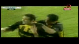 -- احمد سمير يتألق ضد انتورب