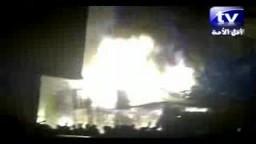 حريق المنشية بالاسكندرية