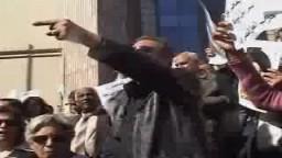 مظاهرة القوي الوطنية المصرية ضد مجازر غزة -4 