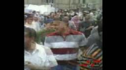اضراب جامعة القاهرة فى 6 ابريل لقطات حصرية لاخوان تيوب