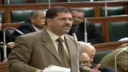 د/ محمد مرسى  وجها لوجه امام الحكومة الفاسدة