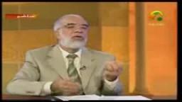 الدكتور عمر عبد الكافى ودرس فى القيم  الاخلاقية