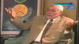 عمرو اديب والمرشد العام للاخوان المسلمين