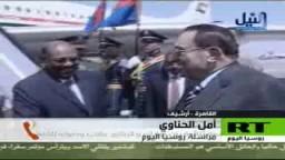 البشير يبحث مع مبارك جهود تحقيق السلام في دارفور