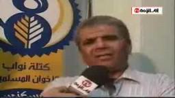 الاستاذ صبحى صالح  ينتقد سياسة النظام المصرى فى سياسة الاعتقالات الغير مبررة