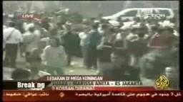 2-مقتل وإصابة 59 في انفجارين بجاكرتا