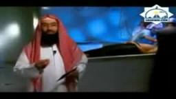 الشيخ نبيل العوضى فى مغسلة الاموات