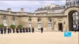 مبارك في باريس لبحث ملف الاتحاد من أجل المتوسط