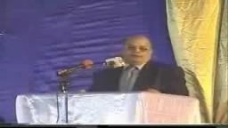 النائب حسين ابراهيم فى مؤتمر معا ضد تصدير الغاز للصهاينة